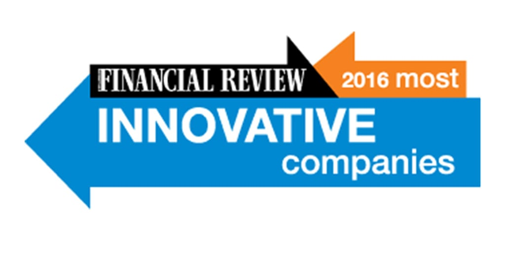 Financial Review 2016 Most Innovative Companies