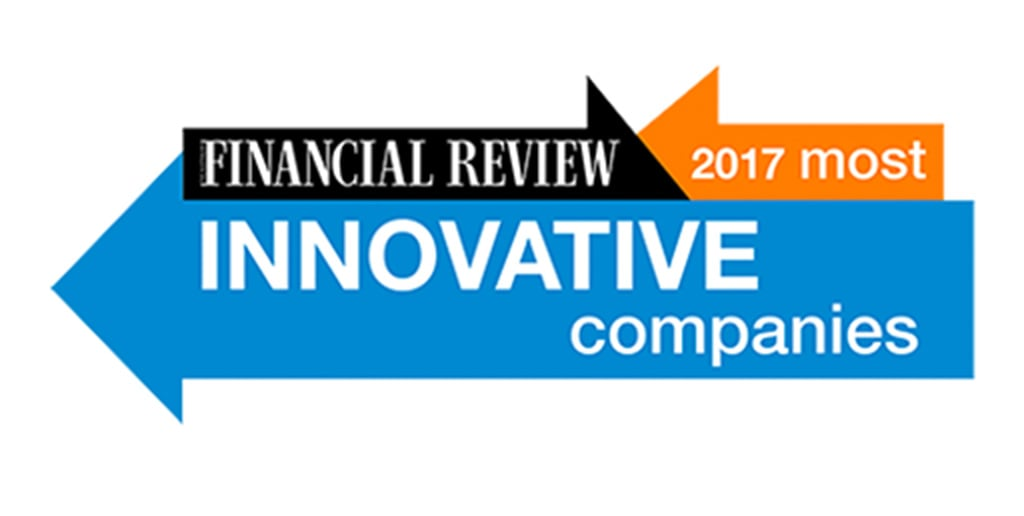 AFR Australia's most innovative companies 2017