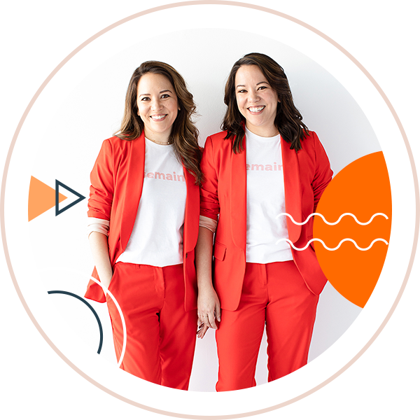 Lauren & Catherine, <span class='text--small'>Founders, <a href='https://www.semainehealth.com/' target='_blank'>Semaine</a><br>March 9th Speaker<br><br><span style='color: #33424f;'><i>Topic: The importance of being your customers' advocate and guide</i></span><br><br><a class='text--subtle'><u>+ more info</u></a></span>